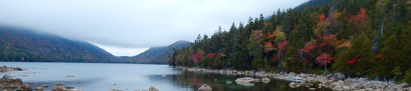 Jordan Pond, Acadia National Park.