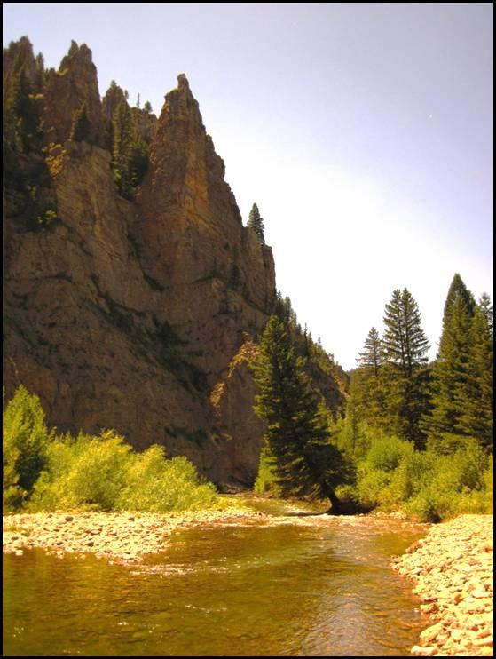 Tenderfoot Creek/Smith River,  Montana