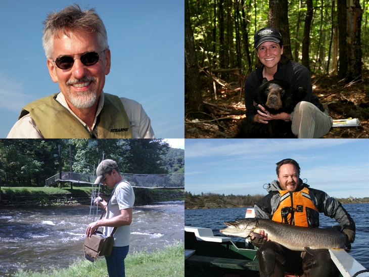 The New York Cooperative Fish and Wildlife Research Unit Staff